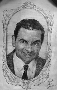 Mr. Bean by ellie-de-yong