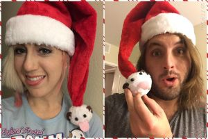 Poro Santa Hats by Missyeru