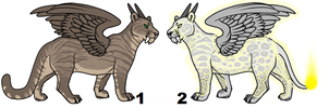 Lion adopts (Closed) by Vexlovely