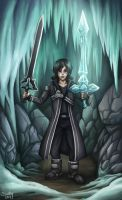 Kirito with two swords by sushy00