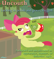 Uncouth by WillDrawForFood1