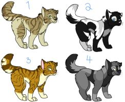 Cat Point Adoptables closed by MidnightAlleyCat