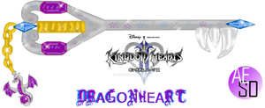 DRAGONHEART Keyblade by AESD