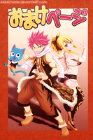 Natsu, Lucy, and Happy (Volume 35) by AkilaChione