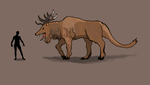 Billy's carnivorous cervid ! by Brobar