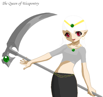Queen of Weapontry by silent-sarah05