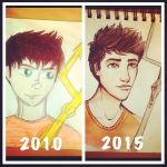 Percy Jackson Redraw by iSea-Shell