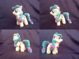 MLP FiM handmade 10 i minky plush: Apple Fritter! by vulpinedesigns