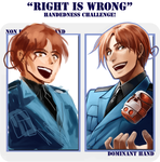 RIGHT HAND IS SO RIGHT MEME by EvilApple513