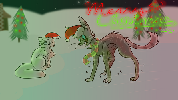 Merry Christmas! by KittenMonster25