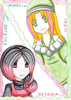 Hinai and Natasha by ASB-Fan
