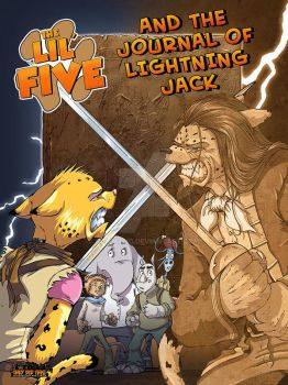 Lil Five and the Journal of Lightning Jack cover by oICEMANo