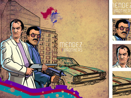 The Mendez Brothers by Momage