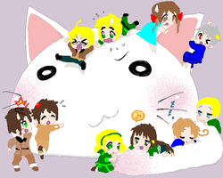 Chibi Hetalia by ask-South-Africa