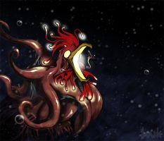 Abyssal Chicken by Le-Doude