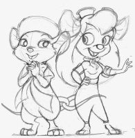 My Favorite Disney Mice by greeniebone