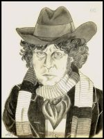 Tom Baker - Doctor Who by Randalassa