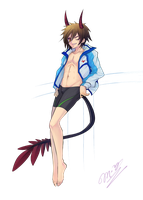 Commission:Incubus shota (Free Version) by Ruri-dere