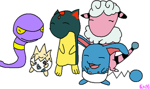 My Soul Silver Team by Kittymuffins98