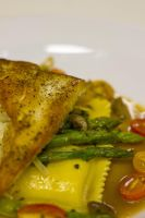 Grouper with an olive nicoise by denehy