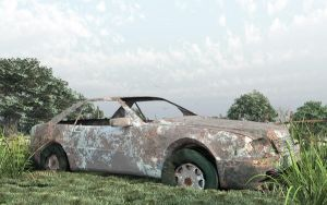 Abandoned Car by magneticblue