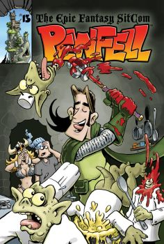 Pewfell Volume 3 Book 5 Cover by chuckwheel