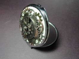 Steampunk mirror 2 by TheSpazOutLoud