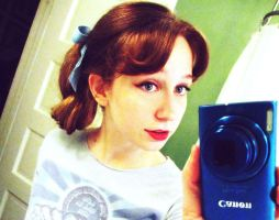 Wendy Darling hair test by pixi996