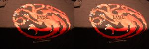 3D Game of Thrones shirt - Targaryan by chrisleblanc79