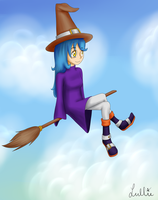 Little witch remake by Akeudi
