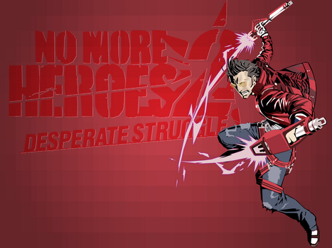 No More Heroes 2:DS by zunedor