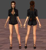 Lara Catsuit by tombraider4ever