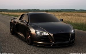 Audi R8 Stealth by TheSaladMan