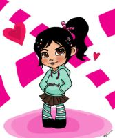 Wreck it Ralph - Vanellope by maicakes
