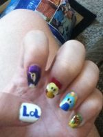 League of Legends Nail Art 1 by sakura517
