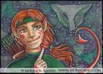 Puck ACEO by Monica-NG