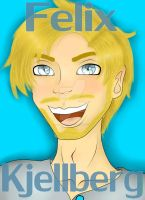 Youtuber Cards: Pewdiepie (redo) by LalaDoesArt