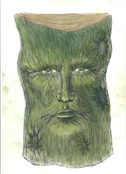 The Green Man by nosuchthingasnothing