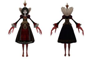 MMD Queen of Hearts ~modified~ DL by 0-0-Alice-0-0