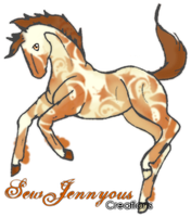 SewJennyous Creations - Promotional Horse by LoofaDog28