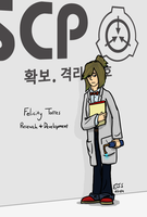 Researcher Felicity SCP Foundation by toadking07