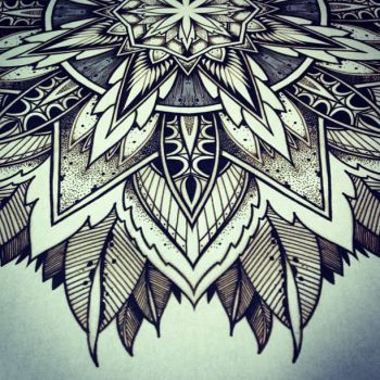 Solstice Mandala Project Day009 by OrgeSTC
