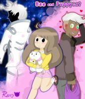 Bee And Puppycat by RavenBlood1011