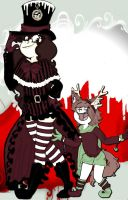 Present: Warden and Lily foxx by VotrePoison
