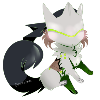 + Genji is with you + by MunchieEevee