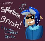 -Splatoon- Manga/Clipstudio brushes by sarahthecat