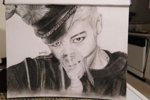 Fanart- TOP (Bigbang) by like2draw001
