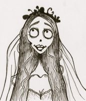 Emily The Corpse Bride by BeckyHolly