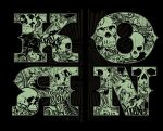 Korn - Skulls in Letters by gomedia