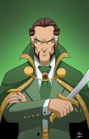 Ra's Al Ghul by phil-cho